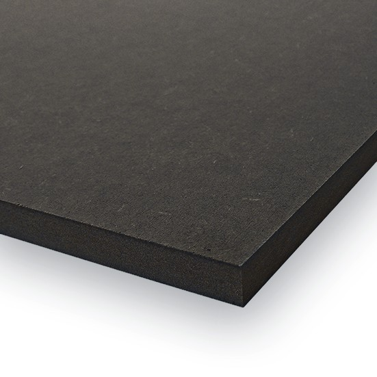 mdf schwarz mdf schwarz durchgef rbt im zuschnitt kaufen modulor mdf platte schwarz durchgef. Black Bedroom Furniture Sets. Home Design Ideas