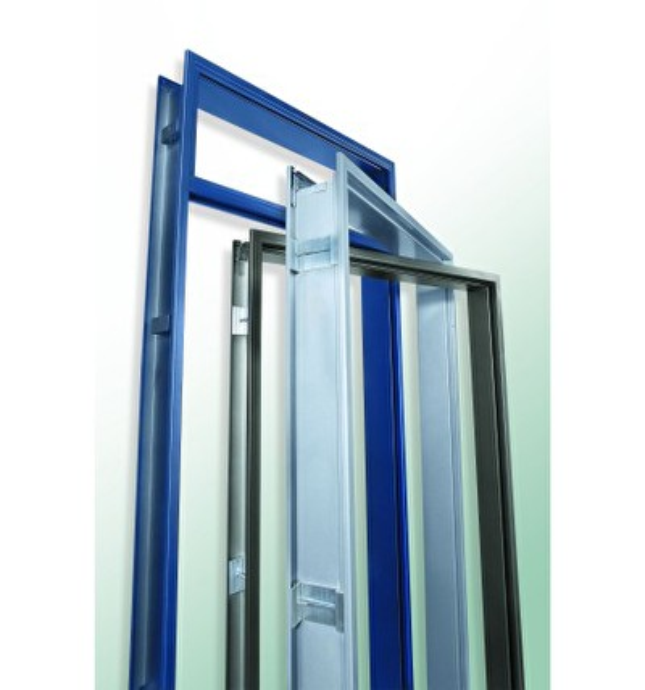 Stahleckzarge  Holz Possling Online-Preisliste - Stahleckzargen für Mauerwerk