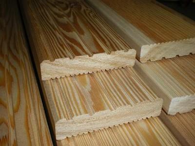 Super Holz Possling Online-Preisliste - Terrassendielen Lärche / Douglasie FY06