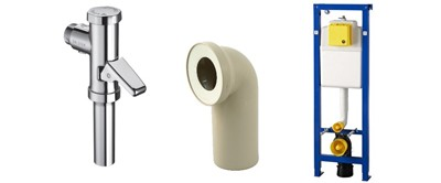 Rubrik WC-Installation