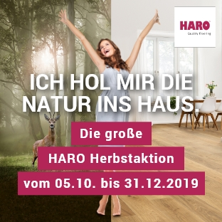 HARO Herbstaktion - Aktionsböden bei Holz Possling